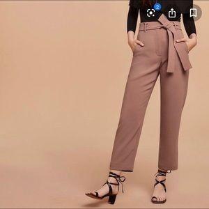 Aritzia Wilfred Jallade blush pants 8 BA1